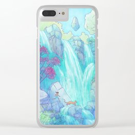 Crossing the Falls Clear iPhone Case
