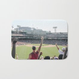 Red Sox Win in Color Bath Mat