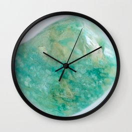 Amazonite - The Peace Collection Wall Clock