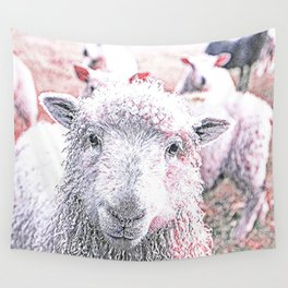 Animal ArtStudio 1819 Sheep Wall Tapestry