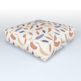 Jalapenos (Vista) Outdoor Floor Cushion