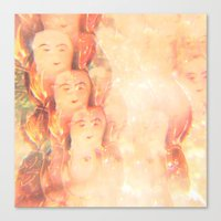 angels Canvas Prints featuring Angels by Johnny Cashley