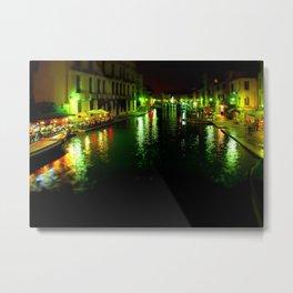 Venice Tilt shift Metal Print