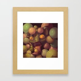 Crazy About Gumballs Framed Art Print
