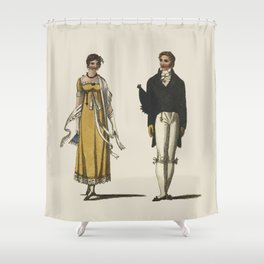 Lady and Gent Shower Curtain
