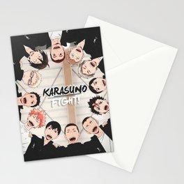 Karasuno  Haikyuu Poster Stationery Cards