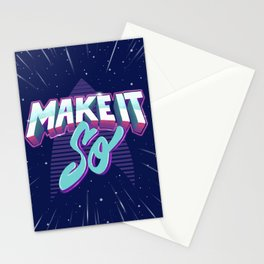 Boldly Go Stationery Cards