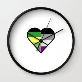 Aro-Ace of Hearts | Playing Card Wall Clock