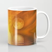 skyfall Mugs featuring skyfall by LuMixaArt