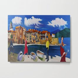 ANTIBES AND FRENCH COVE Metal Print