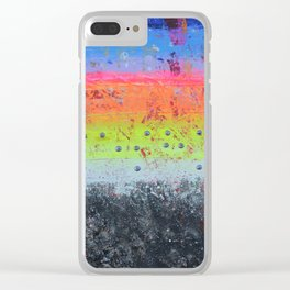 BRAILLE YESHUA Clear iPhone Case