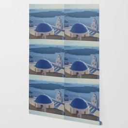 Santorini Island, Greece Wallpaper