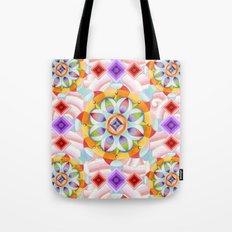 Beaux Arts Pink Waves Tote Bag