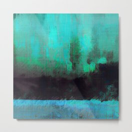 Lysergic Horizon Metal Print