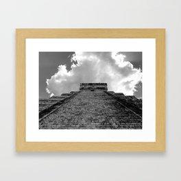 Chichen Itza Cloud Crown Framed Art Print