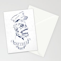 Captain Fury Stationery Cards