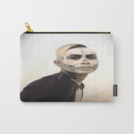 Skull And Tux Photograph Carry-All Pouch