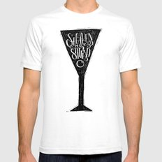 James Bond White Mens Fitted Tee SMALL
