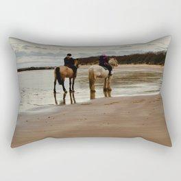 Seacliff Beach Rectangular Pillow