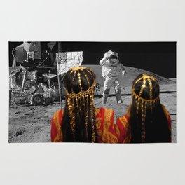 Rgaya and Sabeecha go to the moon Rug