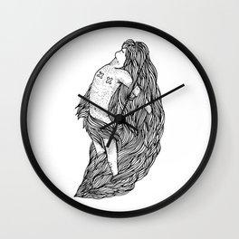 Freak Maiden Wall Clock