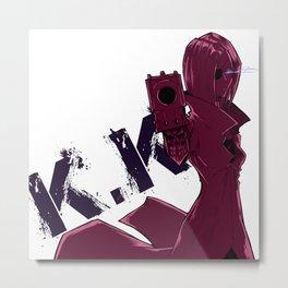 K.K Metal Print