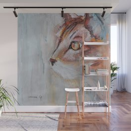 Le chat (the cat) Wall Mural