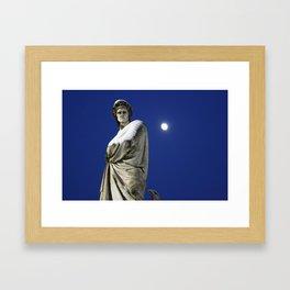 Cold Dante Framed Art Print