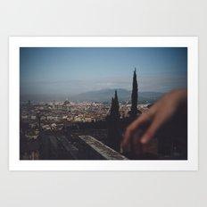 Firenze landscape Art Print
