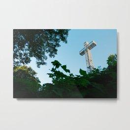Montreal's Cross Metal Print