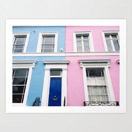 Notting Hill Art Print