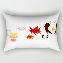 Evil Popcorn Rectangular Pillow