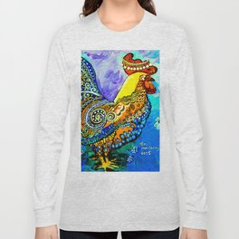 Crazy Chicken Long Sleeve T-shirt