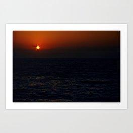 Sunrise Over The South China Sea Art Print