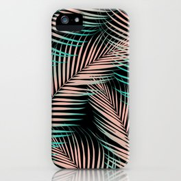 Palm Leaves - Cali Vibes #2 #tropical #decor #art #society6 iPhone Case