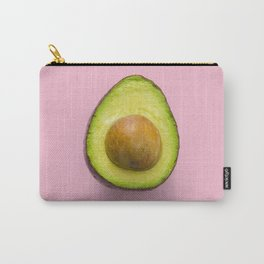 Pink Avocado Carry-All Pouch