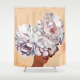 No Flower Boy Shower Curtain