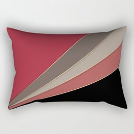 22 Abstract geometric pattern Rectangular Pillow