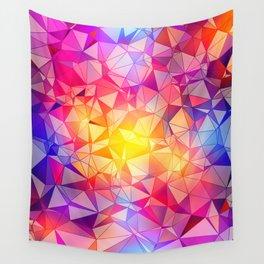 Polygonal Pattern Wall Tapestry