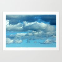 german Art Prints featuring German clouds by LoRo  Art & Pictures