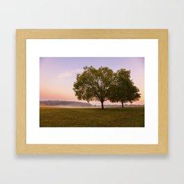 Piedmont Sunrise Framed Art Print