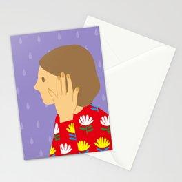 Don't speak Stationery Cards
