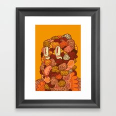 Monotony Framed Art Print