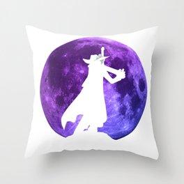Anime Manga Mihawk Moon Inspired Shirt Throw Pillow