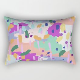 Oil Abstract I Rectangular Pillow