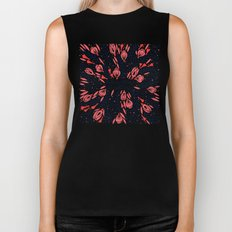 Adventure is Calling – Red & Black Palette Biker Tank