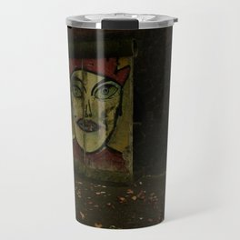 The faces they keep on talking Travel Mug