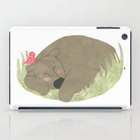 sleeping beauty iPad Cases featuring Sleeping beauty by Dream Of Forest
