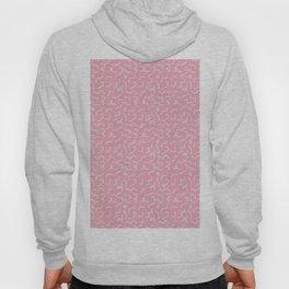Postmodern Squiggles in Pink + Mint Hoody