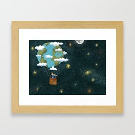 Earth day. Framed Art Print
